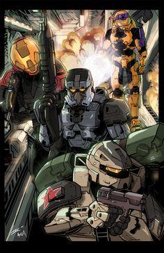 Halo 3 Colors by IanCorrao
