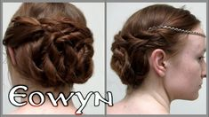 Lord of the Rings Hair - Eowyn Funeral Updo. I love this hair do so much! Cute Hairstyles, Braided Hairstyles, Wedding Hairstyles, Funeral Hair, Lorde Hair, Elf Hair, Curly Hair Styles, Natural Hair Styles, Fashion And Beauty Tips