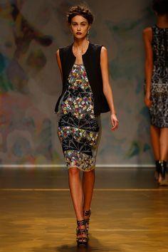 Nicole Miller - Runway - Spring 2014 Mercedes-Benz Fashion Week