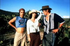 Y Tu Mama Tambien. I love this Movie <3 especially the actors :)