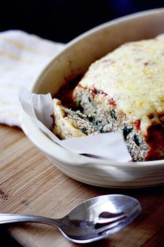 Spinach and Ricotta Turkey Meatloaf via insockmonkeyslippers.com