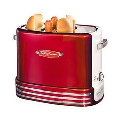 SMART 1950's Style Pop-Up Hot Dog Toaster - American Diner New UK Pliug