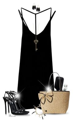 """""""Fresh"""" by nonniekiss ❤ liked on Polyvore featuring RVCA, GHD, Kate Spade, Dsquared2, Dorothy Perkins and Chanel"""