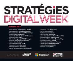 L'agence C Y C A au campus Microsoft à Paris pour la Strategies Digital Week / Le thème du jour : l'innovation & l'efficacité digitale #cyca #cycanow #cycahub