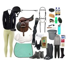 """""""What you need for a horse show."""" by maddiegbarnes on Polyvore"""