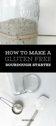 How To Make A Gluten Free Sourdough Starter Ashley Marie Lifestyle A gluten free sourdough starter to make your gluten free bread dreams come true and easier to digest Cookies Sans Gluten, Dessert Sans Gluten, Gluten Free Desserts, Gluten Free Recipes, Gourmet Desserts, Gf Recipes, Bread Recipes, Cookie Recipes, Lifestyle