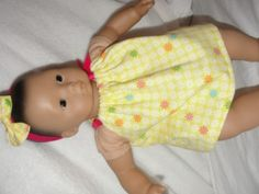 Bitty Baby Pillowcase Dress