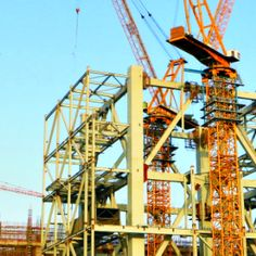 We are offering latest technology and cost-effective tower cranes from SYM Everest Engineering Equipment Pvt Ltd has emerged as one of the key players in tower cranes segment. The company exclusively distributes Fine Hope, SYM flattop and electric luffing cranes which are equipped with electronic safety system, speed control, etc. Read more here: http://bit.ly/2e7yONA