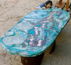 Native copper table minerals from morenci az