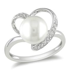 Pearl Ring, Zales
