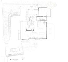 Casa Horizonte,Planta piso principal