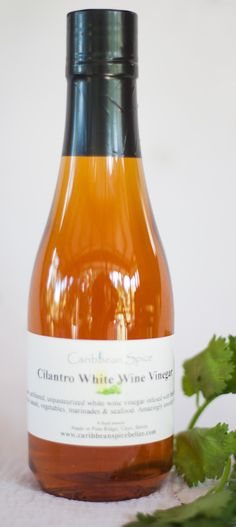 Cilantro White Wine Vinegar