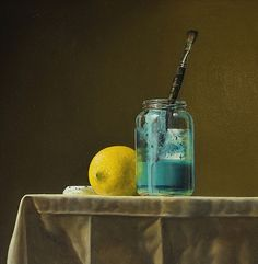 Nature morte au citron