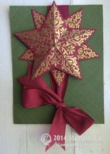 CARD: Bright & Beautiful Gold Stars | Stampin Up Demonstrator - Tami White - Stamp With Tami Crafting and Card-Making Stampin Up blog