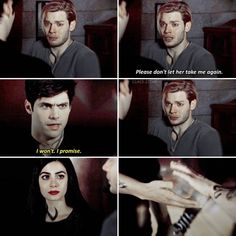 3x08 This episode was so heartbreaking, I'm still crying. - [ #shadowhunters #clace #jalec #claryfray #jaceherondale #isabellelightwood…