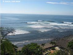 Playa El Sunzal, El Salvador, Central America A surf's paradise!