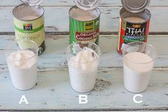 coconut whipped cream - great brand comparison and tips! Via Against All Grain