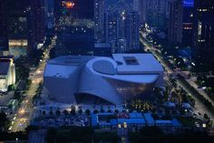 MOCAPE, the museum of contemporary art & planning exhibition designed by architecture firm coop himmelb(l)au, is nearing completion in shenzhen, china. Museum Architecture, Residential Architecture, Architecture Design, Shades Of Red Color, Exhibition Plan, Himmelblau, Museum Of Contemporary Art, Shenzhen China, Moca