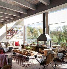 Cabană de munte amenajată în stil urban – Fabrika de Case