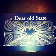 When we stood at childhood's gate, Shapeless in the hands of fate, Thou didst mold us, dear old State, Dear old State, dear old State. ~ Fred Lewis Pattee, Professor of American Literature, 1901