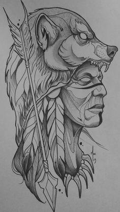 Confiram mais um pouco desse artista em: @macmaiatattoo Cloud Tattoo Design, Tattoo Design Drawings, Tattoo Sketches, Art Drawings, Tattoo Designs, Blackwork, Indian Girl Tattoos, Cruz Tattoo, Native Art