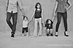 Cute idea for a family picture!
