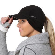 365ea993003 TrailHeads Women s Trailblazer Adventure Ponytail Cap - black