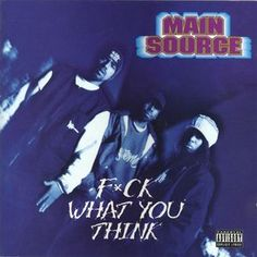 Rare Item In Stock! Main Source - F*ck What You Think CD // Guaranteed Authentic. Like New $39.99 obo @ http://www.discogs.com/sell/item/200559344 #MainSource #WildPitch #HipHop #Discogs #OldSchool