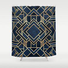Art Deco Fancy Blue Art Print by Elisabeth Fredriksson Arte Art Deco, Motif Art Deco, Art Deco Pattern, Canvas Art, Canvas Prints, Art Prints, Free Canvas, Canvas Size, Wallpaper Art Deco