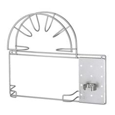 IKEA VARIERA Vacuum hose holder Silver-colour Can be mounted on the inside of the cabinet to make it easier to store your vacuum cleaner. Home Organisation, Kitchen Organization, Kitchen Storage, Ikea Kitchen Interior, Ikea Variera, Vacuum Cleaner Storage, Cleaning Cabinets, Utility Closet, Ikea Shopping