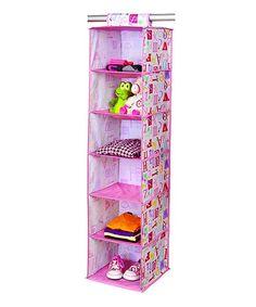 Laura Ashley Home Owlphabet Six-Shelf Closet Organizer by Laura Ashley Home #zulily #zulilyfinds