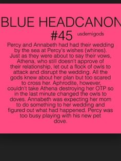 Percy Jackson<< My 'heroic' big brother, when was saved from saved from an attack of owls, rushes off to play with a dove. yep, runs on the genes 🤣 Percy Jackson Annabeth Chase, Percy Jackson Head Canon, Percy Jackson Ships, Percy Jackson Quotes, Percy And Annabeth, Percy Jackson Books, Percy Jackson Fandom, Percy Fanfic, Percy Jackson Couples
