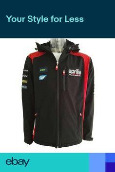 A1SSXX17RE1 Official Gresini Aprilia Moto Gp Team Zip Up Hooded Jacket