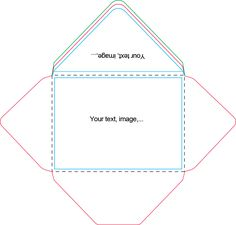 Envelope templates nests and envelopes on pinterest for Sd card label template