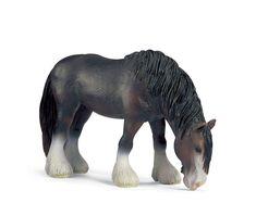 Amazon.com: Schleich - Shire Horse Mare: Toys & Games