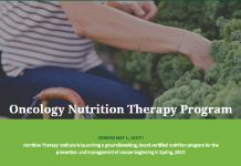 New Groundbreaking Oncology Nutrition Therapy Program Set To Release