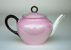 Czech Pink Lustre - Teapot