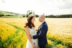 A wonderful wedding at home story proving that sometimes holiday romances do last. Marquee Wedding, Home Wedding, Bride Groom, Sons, Romance, Couple Photos, Yellow, Photography, Wedding At Home