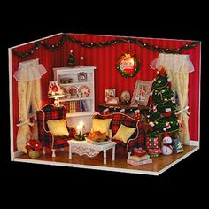 Rylai Wooden Dollhouse Miniature DIY Kit Geschenk Dollhou... http://www.amazon.com/dp/B0117QXXAO/ref=cm_sw_r_pi_dp_TAVuxb1W5BS1H