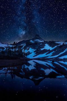Out of the Blue, Into the Black by Michael Bollino.  Gorgeous starry night sky.
