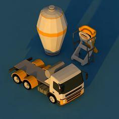Truck 01 on Behance