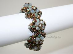 More Than Chic Bracelet Beading Pattern by EmbellishedByRose, $15.00  beading patterns beadweaving beadwork bead work diy jewelry bracelet necklace earring ring bling vintage cuff wrap bangle crafty craft do it yourself homemade home made accessories bead and button bead & button hobby lobby joannes michaels wedding