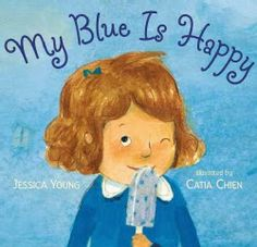 My Blue is Happy is a great title for talking with kids about how they view the world, and introducing the notion that we don't all see things in the same way. Review by @Summer Redwine's Bookshelf Blog