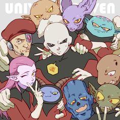 The Pride Troopers Dbz, Dragon Ball Z, Jiren The Gray, Super Movie, Dragon Images, Pokemon, Fanart, Son Goku, Awesome Anime