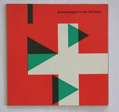 sommersport in der schweiz, 1963  designer: hans hartmann