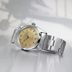 Rolex Air-King - The Aviators' Watch Casual Watches, Cool Watches, Watches For Men, Rolex Air King, Seiko, Luxury Watches, Rolex Watches, Watches Photography, Gents Fashion