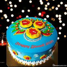 Write Name On Happy Diwali Wishes Cake