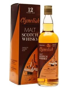 Clynelish 12 Year Old - Bot.1980s Scotch Whisky : The Whisky Exchange