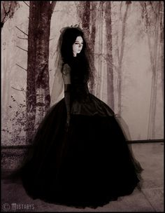 goth princess (-mistabys) by mistabys on deviantART