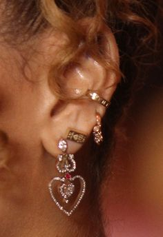 Rihanna's earring game deserves a gold medal